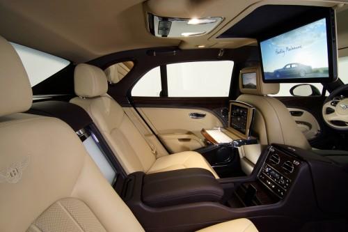Bentley Mulsanne Executive Interior Concept