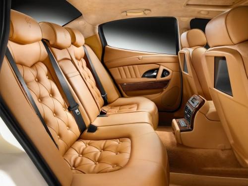2008 Maserati Quattroporte Collezione Cento Rear Seating