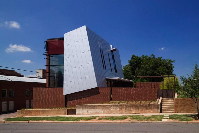 Behold The OKasian House Designed By Fitzsimmons Architects Think. Modern Furniture Oklahoma City On Urban Farmhouse Designs Oklahoma