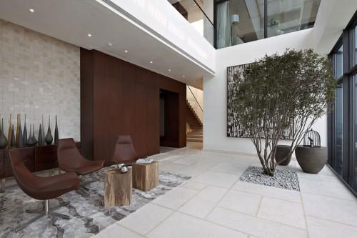 طراحی داخلی ، طراحی داخلی ویلا ، خانه ای از درخت