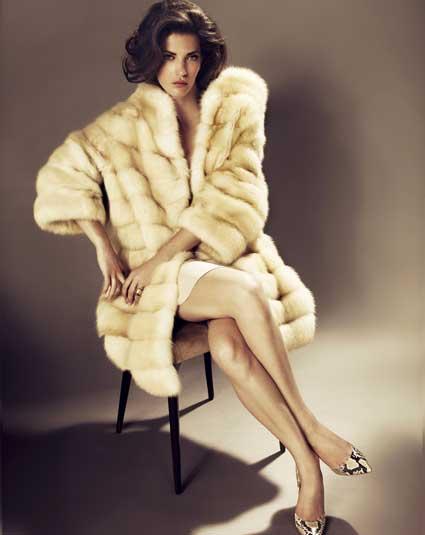 Women In Fur Coats | Fashion Women's Coat 2017
