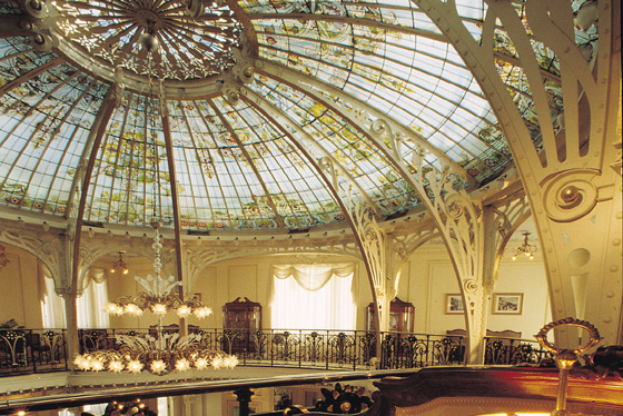 Hotel hermitage think vip - Belle epoque interiors ...