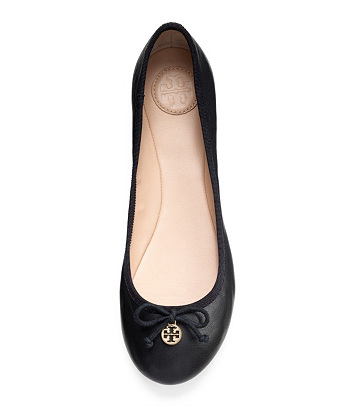 Tory Burch Chelsea leather ballerinas Zwfjz8yU